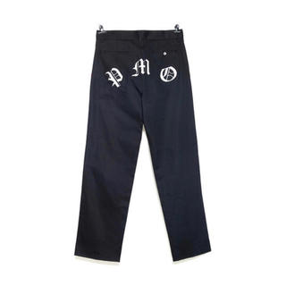 ピースマイナスワン(PEACEMINUSONE)のPMO WORK PANTS #1 BLACK(ワークパンツ/カーゴパンツ)