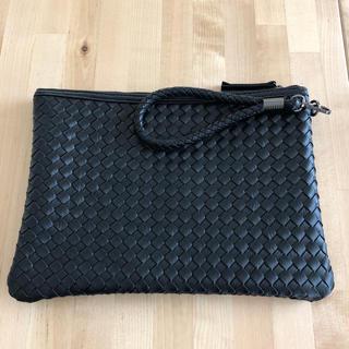 編み込み クラッチバッグ メッシュ セカンドバッグ フォーマル バッグ