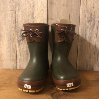 ハンター(HUNTER)のnicc04様専用 新品タグ付き レインブーツ 18㎝ 長靴 ハンター ビスゴ(長靴/レインシューズ)