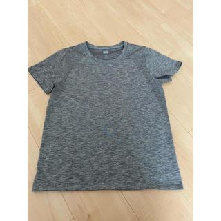 UNIQLO - ユニクロ ドライEXクルーネックTシャツ レディース