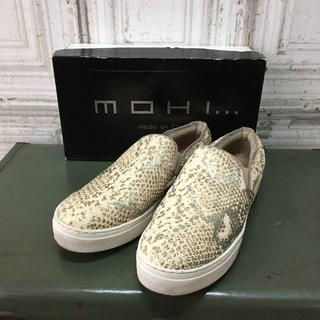 スペイン製 MOHI モヒ スリッポン USED(スリッポン/モカシン)