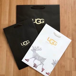 アグ(UGG)の【ショップ袋】UGG(アグ)☆紙バック3枚(ショップ袋)