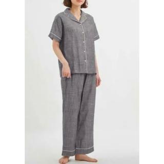 ジーユー(GU)の新品タグ付き gu 半袖オーガニックコットンパジャマ  (パジャマ)