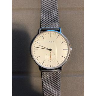 ノットノット(Knot/not)のknot(ノット )腕時計 ベルト2本付き(腕時計)