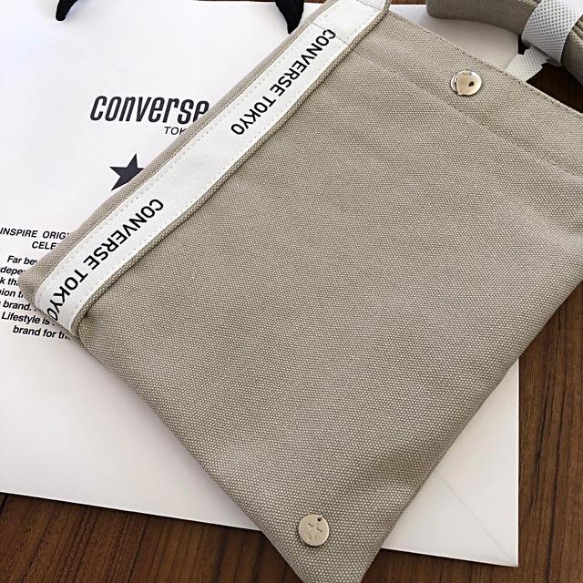 CONVERSE(コンバース)の【ご専用】コンバースTOKYO 新品サコッシュ レディースのバッグ(ショルダーバッグ)の商品写真