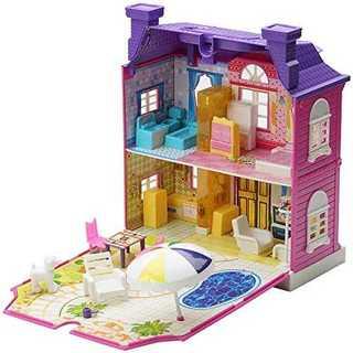 【 Alnair 】おままごと 2階建て 煙突のある お家 女の子 おもちゃ 知(知育玩具)