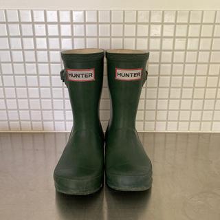 ハンター(HUNTER)のハンター 長靴 キッズ hunter レインブーツ 15cm UK9(長靴/レインシューズ)