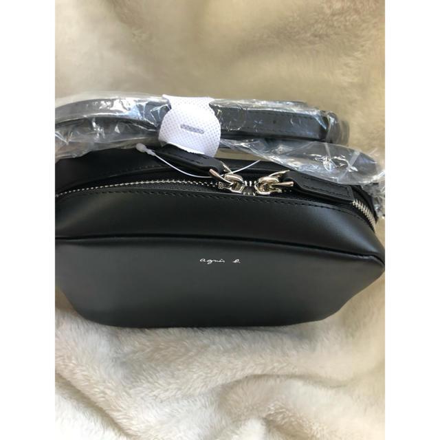 agnes b.(アニエスベー)の【連休限定価格】アニエスベー ショルダーバック ブラック♡ レディースのバッグ(ショルダーバッグ)の商品写真