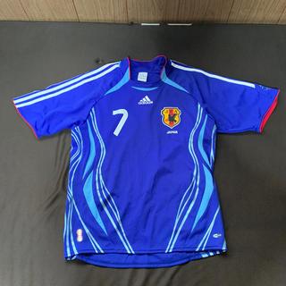アディダス(adidas)の中田英寿選手の日本代表レプリカです。(スポーツ選手)