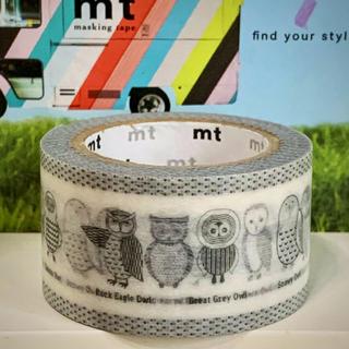エムティー(mt)の♡ふくろう♡マスキングテープ«mt 限定 レア»(テープ/マスキングテープ)