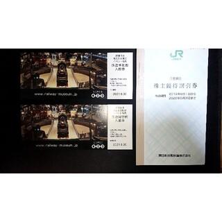 ジェイアール(JR)の9020東日本旅客鉄道(JR東日本) 株主優待割引券 1枚2割引(鉄道乗車券)