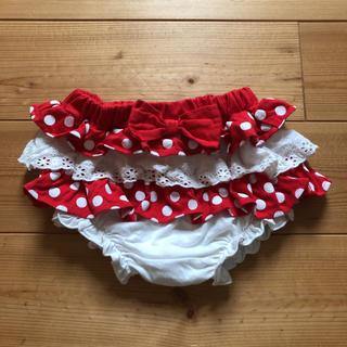 ディズニー(Disney)のミニーちゃん フリルパンツ 80(パンツ)