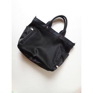 MUJI (無印良品) - トートバッグ ショルダーバッグ 10ポケット