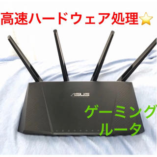 ASUS - 【高速】WiFiルーター ASUS