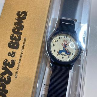 ビームス(BEAMS)のpopeye beams 40th anniversary collection(腕時計(アナログ))