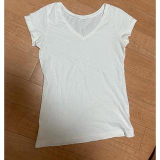MUJI (無印良品) - 無印良品 Tシャツ 白 新品 同様 美品 白T 白Tシャツ 無印