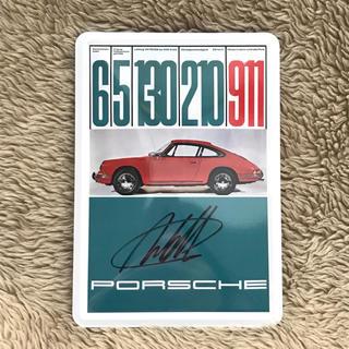 ポルシェ(Porsche)のポルシェ 911 メタルプレート(ノベルティグッズ)