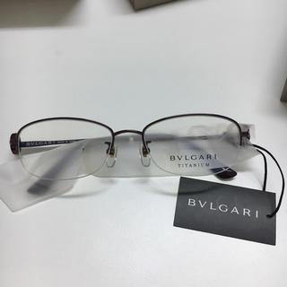 ブルガリ(BVLGARI)の【新品未使用】ブルガリ メガネフレーム正規品(サングラス/メガネ)