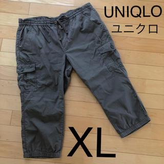 UNIQLO - UNIQLO ユニクロ ワークパンツ カーゴパンツ XL 夏 大きいサイズ