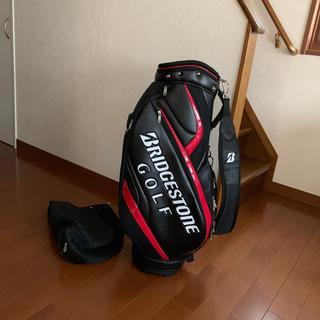 ブリヂストン(BRIDGESTONE)の⛳️カッコ良い❗️  BSゴルフ キャディバッグ  Bマーク入りショルダー(バッグ)