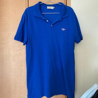 メゾンキツネ(MAISON KITSUNE')の美品メゾンキツネ ポロシャツ(ポロシャツ)