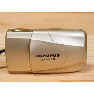 オリンパス(OLYMPUS)のオリンパス μ-II ミュー II OLYMPUS(フィルムカメラ)