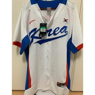 NIKE - 2010アジア大会韓国代表 野球ユニフォーム 新品 NIKE XL