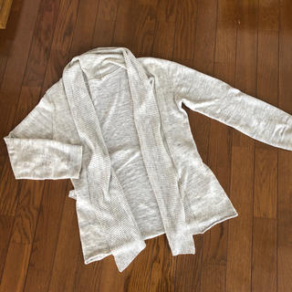 MUJI (無印良品) - MUJI 麻の羽織り