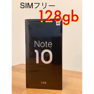 ANDROID - Xiaomi Mi Note 10 Lite 6GB/128GB 日本国内版