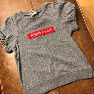 レディーアップルシード(REDDY APPLESEED)のREDDY Apple seed パフスリーブTシャツ 110cm(Tシャツ/カットソー)