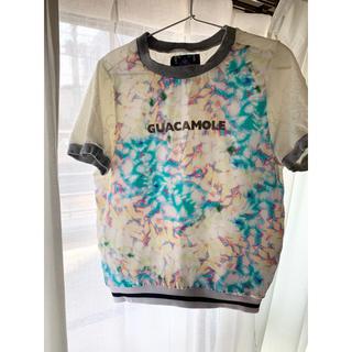 アナザーエディション(ANOTHER EDITION)のガガモレ Tシャツ 半袖 GUACAMOLE 水着 アナザーエディション(Tシャツ(半袖/袖なし))