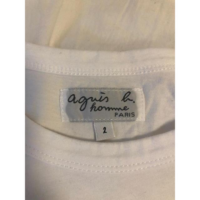 agnes b.(アニエスベー)のアニエスベー agnes b Tシャツ ホワイト 白 レディースのトップス(Tシャツ(半袖/袖なし))の商品写真