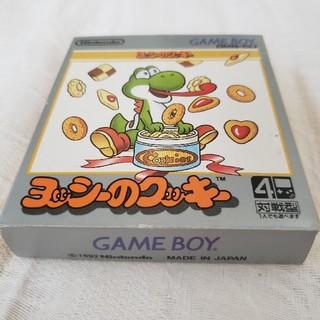 【箱・取説付・動作確認済】Nintendo ヨッシーのクッキー ゲームボーイ版