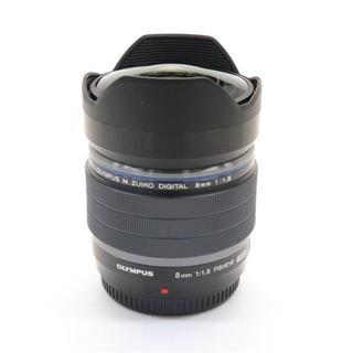 オリンパス(OLYMPUS)の魚眼レンズ OLYMPUS M.ZUIKO 8mm F1.8 FISHEYE(レンズ(単焦点))
