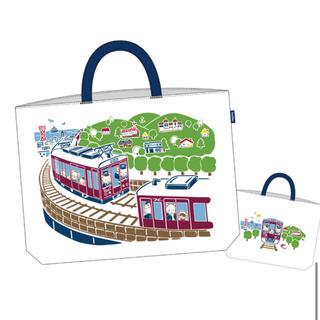 ファミリア(familiar)のfamiliar✖️阪急電鉄 レッスンバックと巾着袋3点セット(バッグ/レッスンバッグ)