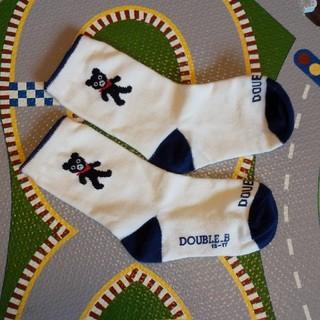 DOUBLE.B - DOUBLE_B靴下