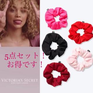 ヴィクトリアズシークレット(Victoria's Secret)のヴィクトリアシークレットPINKシュシュ5点セット(その他)