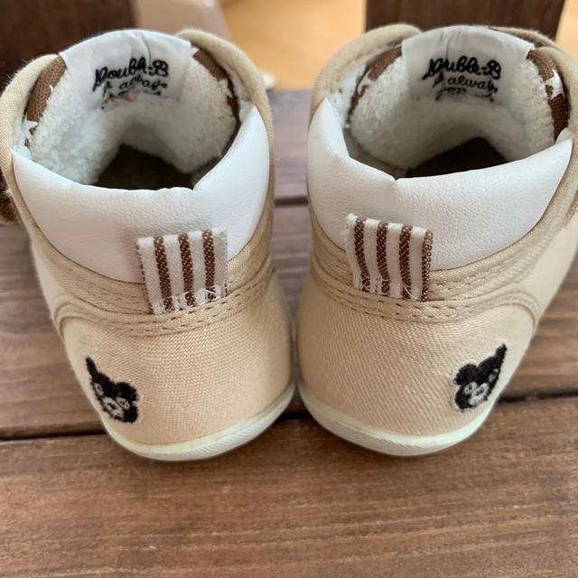 DOUBLE.B(ダブルビー)のダブルビー スニーカー 12.5 キッズ/ベビー/マタニティのベビー靴/シューズ(~14cm)(スニーカー)の商品写真