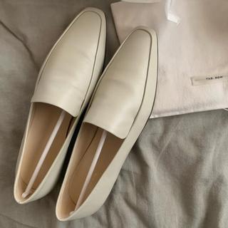 ドゥロワー(Drawer)のThe Row 2019ss/écru flat shoes(ローファー/革靴)