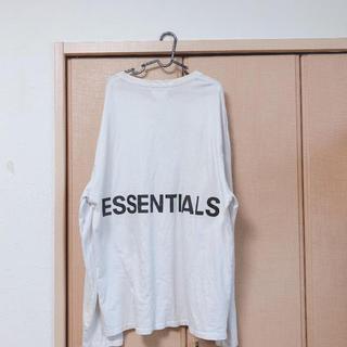 フィアオブゴッド(FEAR OF GOD)のessentials FEAROFGOD Tシャツ(Tシャツ/カットソー(七分/長袖))