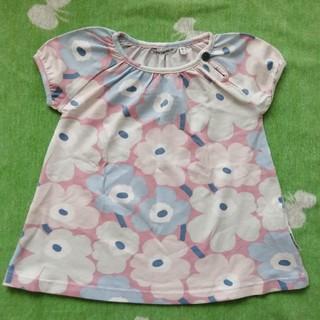 マリメッコ(marimekko)のマリメッコ marimekko ウニッコ Tシャツ トップス 92 95(Tシャツ/カットソー)
