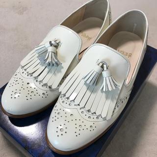 ヒミコ(卑弥呼)の卑弥呼 牛革タッセル ローファー 23cm(ローファー/革靴)