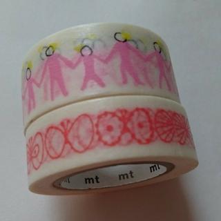ミナペルホネン(mina perhonen)の廃盤ミナペルホネンマスキングテープ(未使用品)(テープ/マスキングテープ)