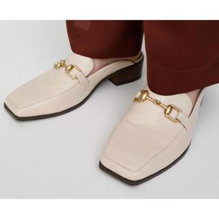 マウジー(moussy)のmoussy LOAFER ミュール(ローファー/革靴)