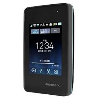 エヌティティドコモ(NTTdocomo)のLG(エルジー) Wi-Fi STATION L-01G ブラック docomo(PC周辺機器)