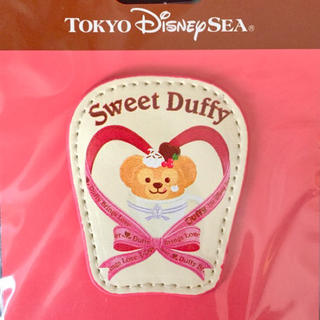 Disney - ★サービス品★ディズニー ダッフィー ブローチ/バッチ、ハンドメイド、シェリー