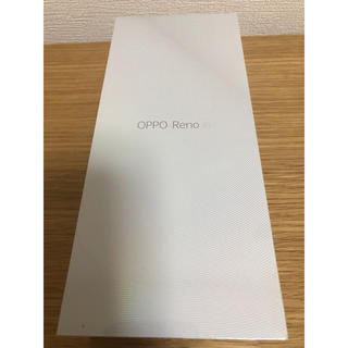 ANDROID - OPPO Reno A 128GB ブラック 本体