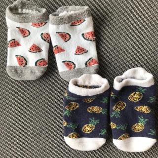 プティマイン(petit main)のプティマイン ベビー靴下 9〜11cm(靴下/タイツ)