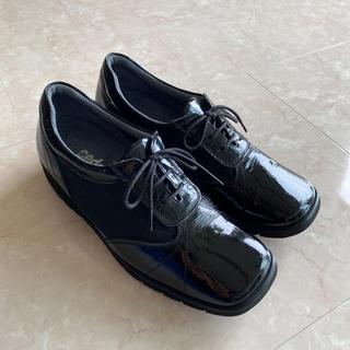 アシックス(asics)のpedala ペダラ エナメルメッシュウォーキングシューズ 22 EE(ローファー/革靴)