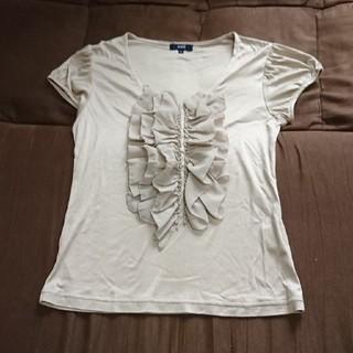 ロペ(ROPE)のROPEパフスリーブフリルカットソー(カットソー(半袖/袖なし))
